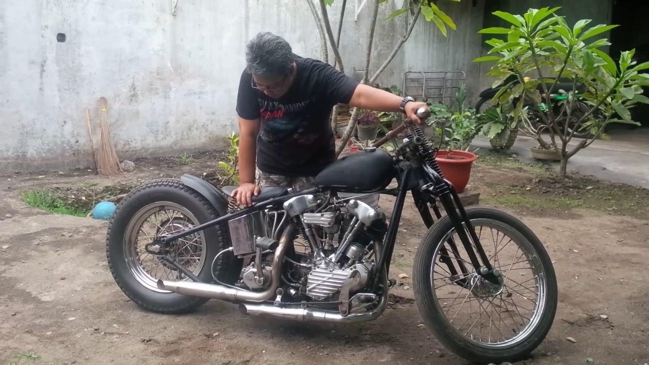 Knucklehead Bobber Harley Davidson