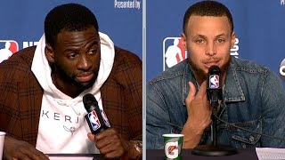 Steph Curry & Draymond Green Postgame Interview - Game 3 | Warriors vs Cavaliers | 2018 NBA Finals