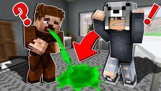 FAKİR EVİME KUSTU! 😱 - Minecraft