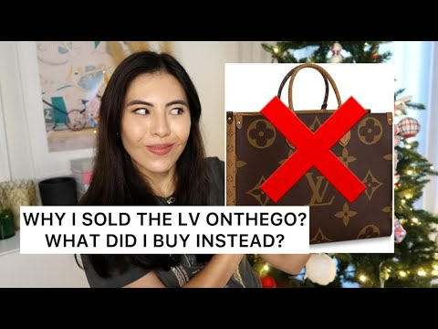 Why I Sold The LV OnTheGo and What Did I Buy Instead?-I Finally Found The Best Tote Bag