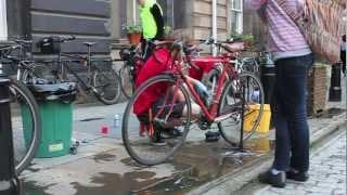 Bike Breakfast, Edinburgh City Chambers