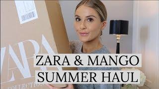 ZARA & MANGO SUMMER TRY ON HAUL | NADIA ANYA