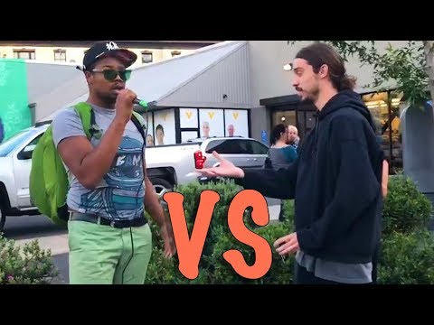 EPIC STREET DEBATE: Human Rights vs Animal Rights