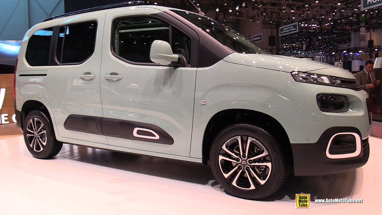 2019 citroen berlingo exterior and interior walkaround debut at 2018 geneva motor show youtube. Black Bedroom Furniture Sets. Home Design Ideas