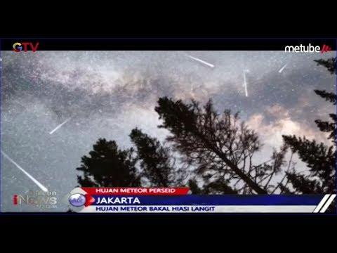 WOW! Hujan Meteor Perseid Hiasi Langit di Belahan Bumi Utara - BIM 13/08