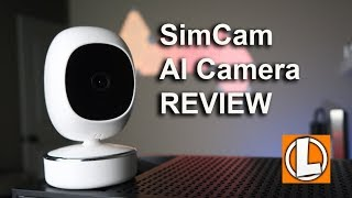 SimCam AI WiFi Security Camera Review  - Unboxing, Features, Setup, Video Quality
