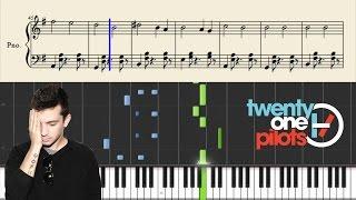 twenty one pilots - Isle Of Flightless Birds - Piano Tutorial + Sheets