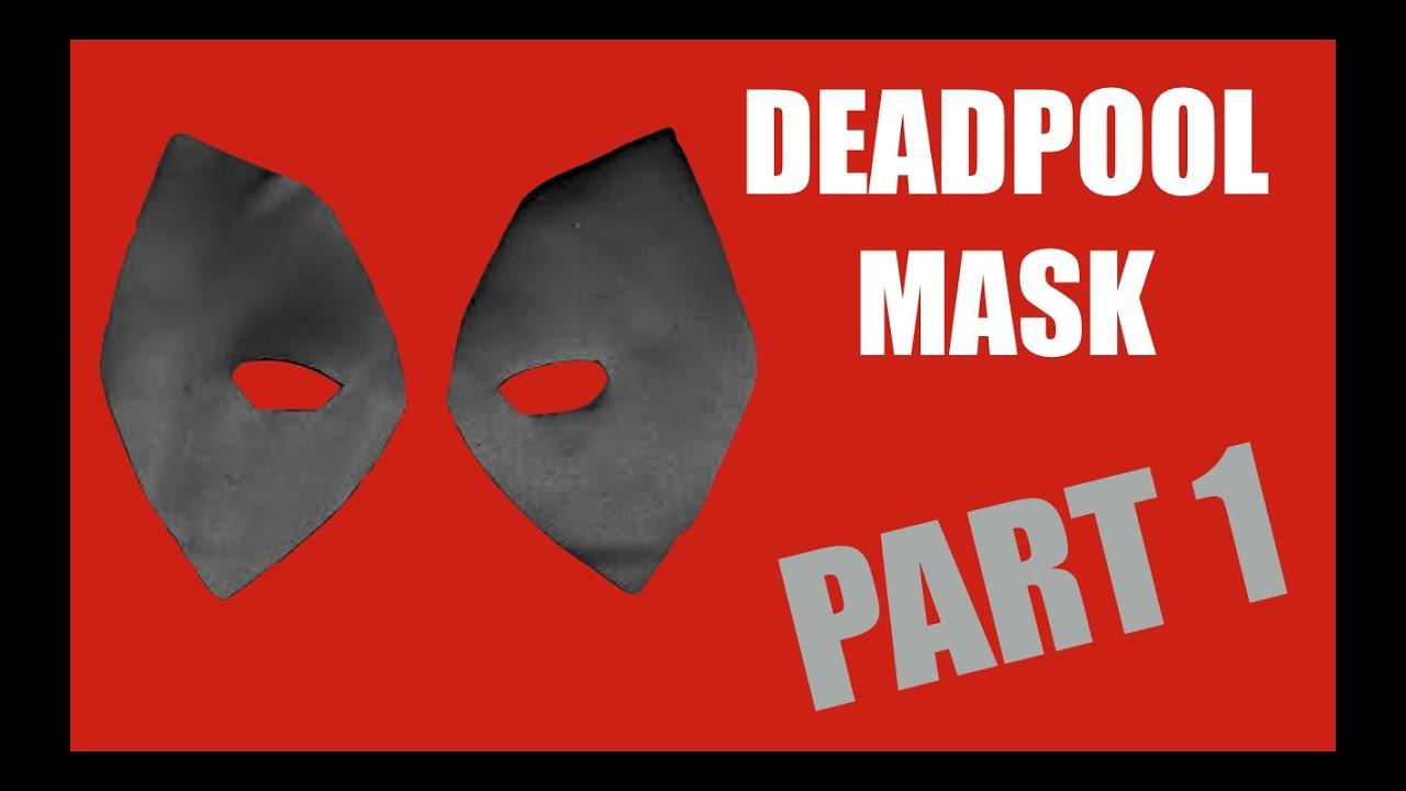 Deadpool Mask Tutorial - Part 1 - YouTube
