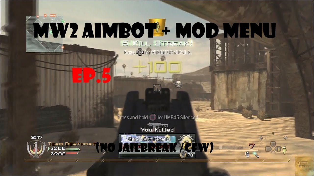 how to get aimbot on mw2