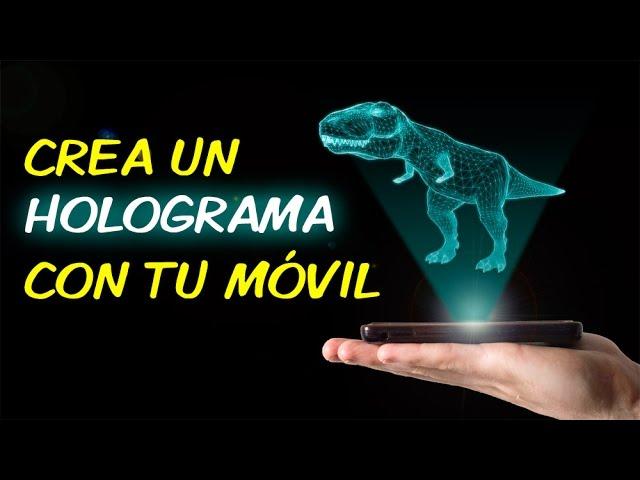 CREA UN HOLOGRAMA con tu móvil 📱/ DIY Smarthphone /
