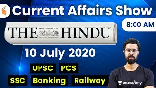 8:00 AM - Daily Current Affairs 2020 by Bhunesh Sir | 10 July 2020 | wifistudy