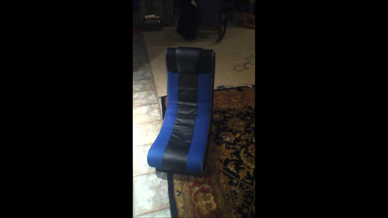 X Video Rocker Video Game Chair Youtube