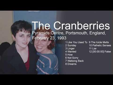 The Cranberries Live- False Pyramids Centre, Portsmouth, England February February 23, 1993 mp3