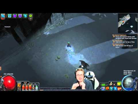Path of Exile  Ghost Reaver + ES on Hit Eldritch Battery Early Proof of Concept