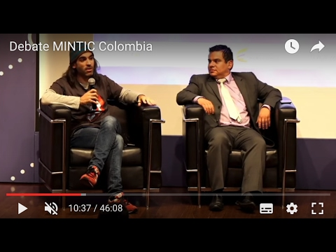 [2016] Debate MINTIC Colombia