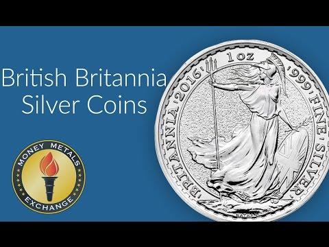 Silver Britannia Coin   British Royal Mint   Money Metals Exchange