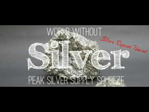 Peak Silver Supply Squeeze! World Without Silver