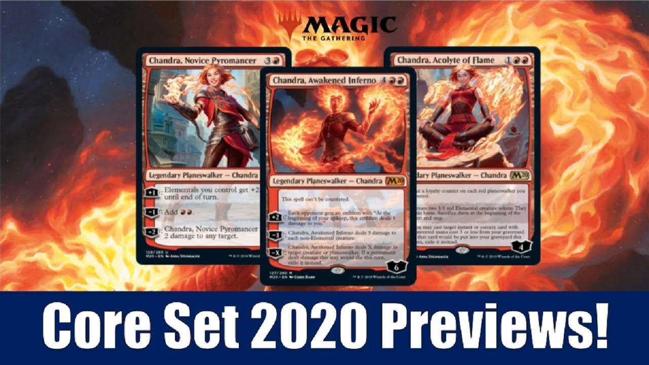 Mtg Banned List 2020.3 New Chandra Planeswalkers From Core Set 2020