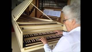 Bach - Trio sonata g major, BWV 530, Rosalinde Haas, Blanchet harpsichord
