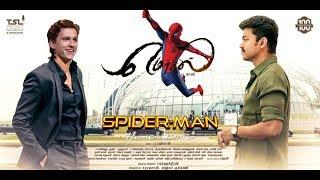 Mersal Trailer Remix Spider Man Homecoming