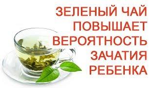 зеленый чай повышает вероятность зачатия ребенка / Доктор Черепанов