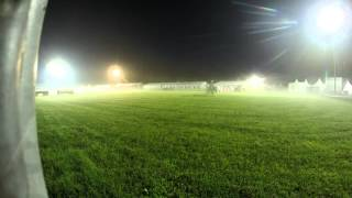 Military Boekelo-Enschede 2014 at night (timelapse)