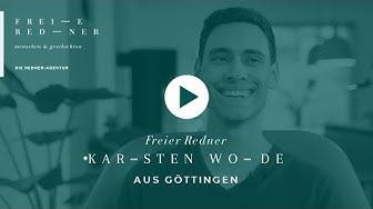 Freier Redner Karsten Wode aus Göttingen für Eure Freie Trauung