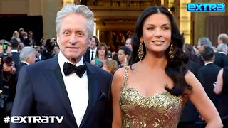 Michael Douglas Talks Falling for Catherine, About His Sons, and More