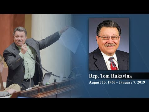 The Minnesota House remembers former Rep. Tom Rukavina  1/10/19