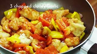 SIZZLE: Sweet and Sour chicken