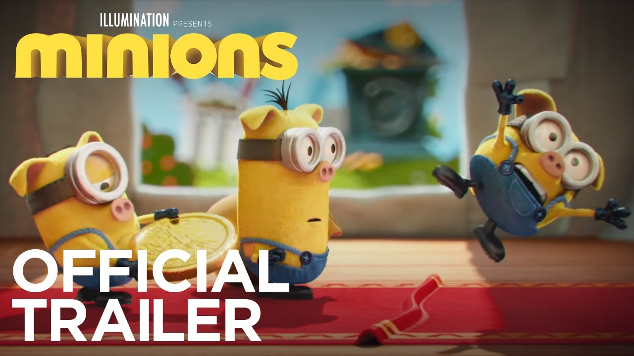 minions official trailer 2 hd illumination youtube