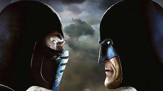 Mortal Kombat vs DC Full Movie All Cutscenes (Scorpion Vs Batman)