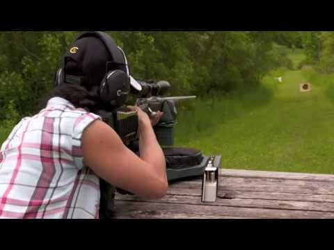 Shooting Range Practice- Caldwell FCX Lead Sled Shooting Rest Video WEB