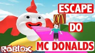 Roblox - ESCAPE MC DONALDS | MATSURA GAMES