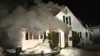 Blackstone, Ma home destroyed by fire