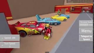 Disney Pixar Cars Game - The Cringe Side Of Roblox