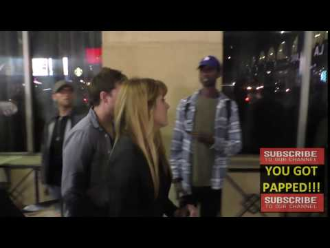 Yvonne Zima arriving to Roosevelt Hotel in Hollywood
