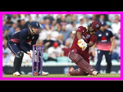 Breaking News | Evin lewis hits 176 as west indies post 356-5 vs. england in fourth odi