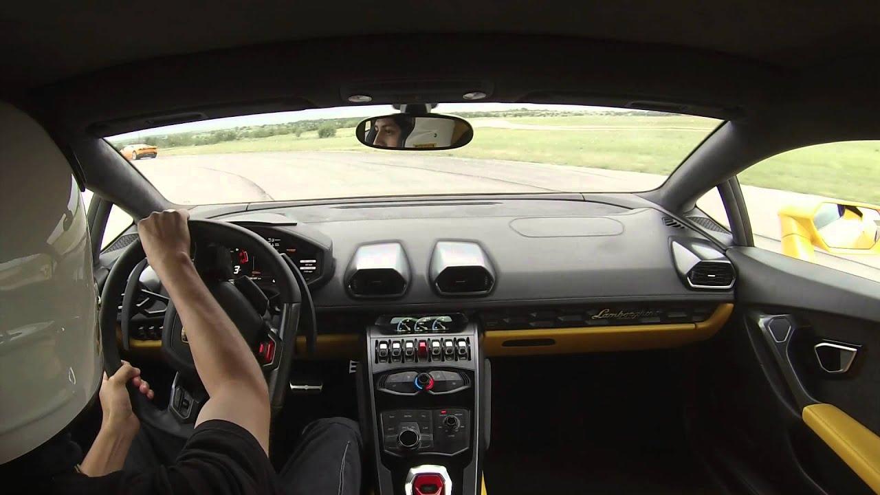 Lamborghini Huracan Test Drive
