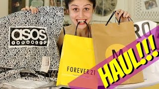 HUGE HAUL: Forever 21, Asos, Urban Outfitters & More + IMP ANNOUNCEMENT !!!
