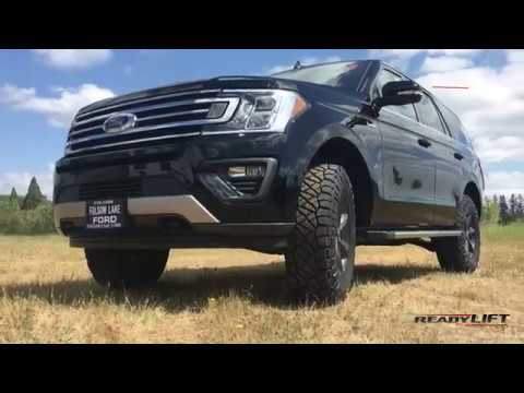 2018 Ford Expedition Lift Kit - ReadyLIFT - YouTube
