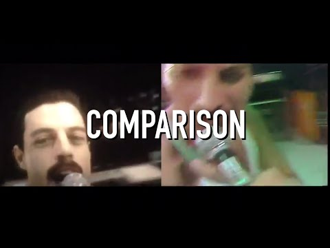 Live Aid, BoRhap vs IRL Comparison