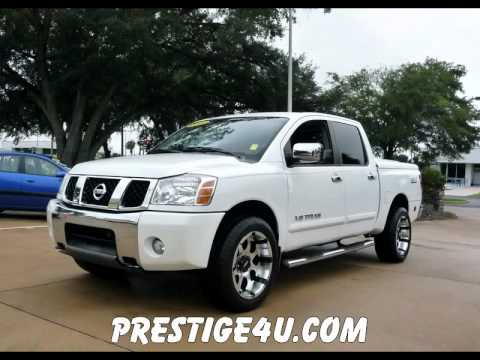 used nissan titan 4x4s on sale in ocala florida youtube. Black Bedroom Furniture Sets. Home Design Ideas