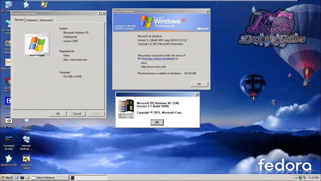 Windows xp мини скачать