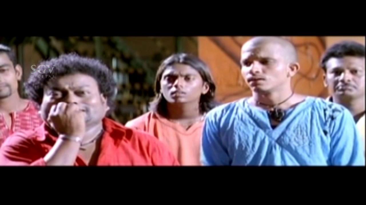 Sadhu Kokila Comedy Scenes with Rakshitha | Kannada Comedy Scenes | Hubballi Kannada Movie | Sudeep