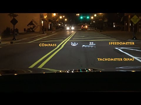 2018 Camry Head-Up Display - How to Use and What it can do