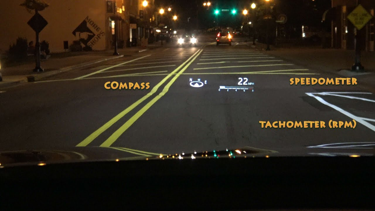 2018 Camry Head Up Display How To Use And What It Can Do