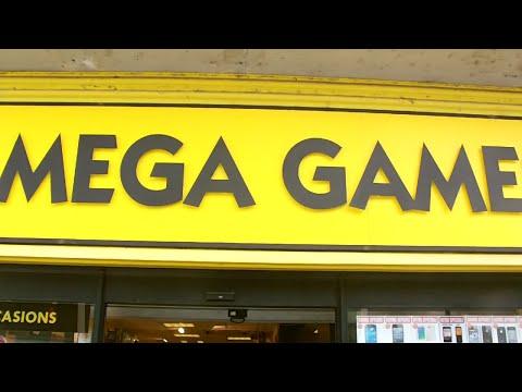 """Rocky vous fait découvrir le magasin """"Mega Games"""" de Tours"""
