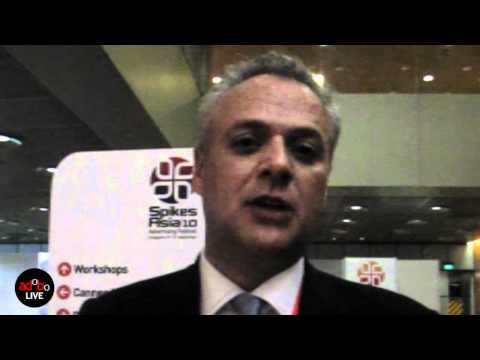 adoboLIVE! Paul Heath, Ogilvy & Mather Asia-Pacific CEO on speaking at Spikes Asia 2010