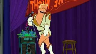 Futurama - Zapp Brannigan y la canción de Leela